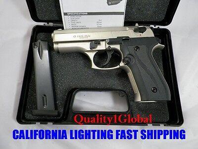 QUALITY METAL SATIN EKOL DICLE BERETTA Replica MOVIE PROP Pistol Gun Training 17