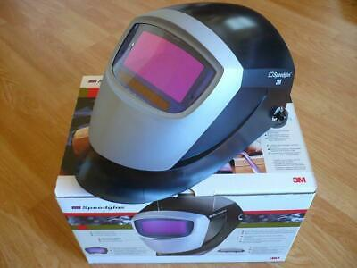 3m Speedglas 37122 Auto Darkening Welding Helmet - 9002x Lens- New In Box
