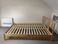 Double bed frame FJELLSE by IKEA