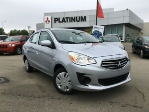 17 Mirage- Full Warranty, Fuel Efficent, LOW KM, Parks Anywhere