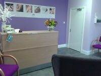 Therapy rooms to rent per hour in Private Clinic in Washington, furnished to a very high standard.