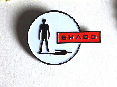 "UFO TV Series SHADO Logo Cloisonne  Metal Pin 1.25""- Gerry Anderson for sale  Longwood"