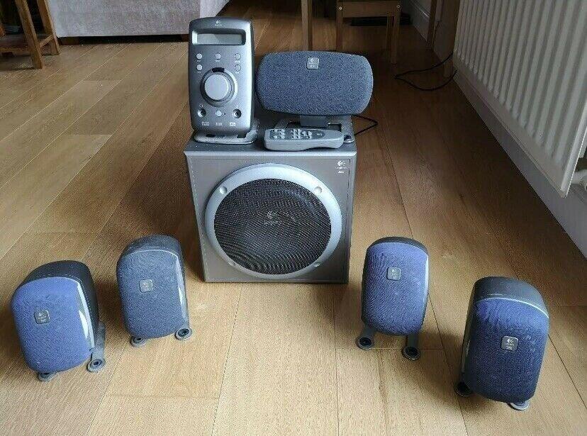 Wonderbaarlijk Logitech Z680 5:1 505W THX Certified home speaker system NW-29