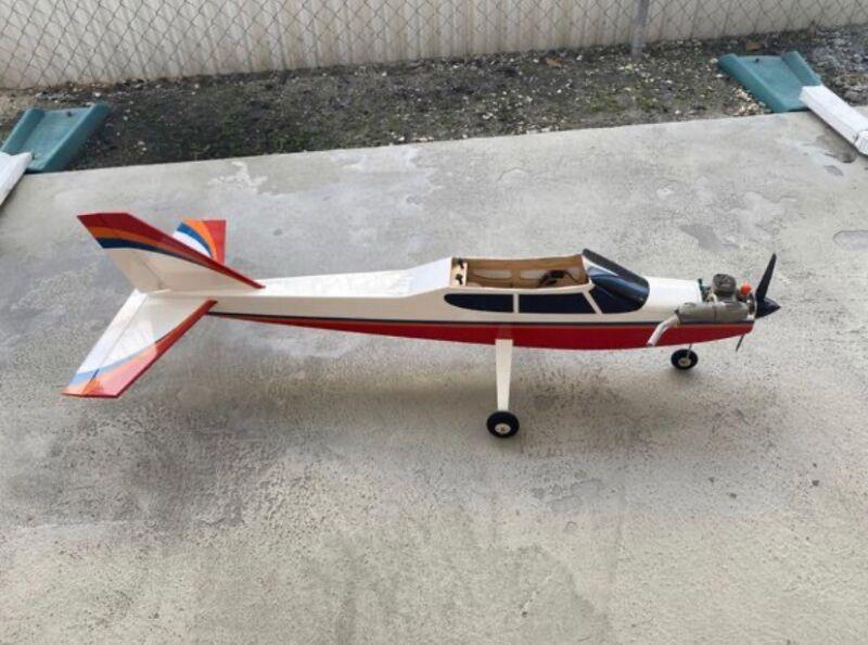 Nitro RC Airplane