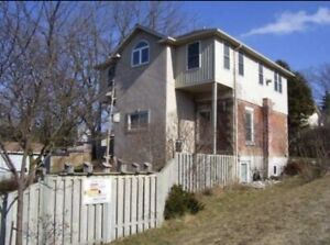 2 bed plus office in Elora avail March 1
