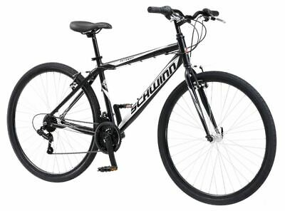 Mens Hybrid Bicycle Urban City Commuter Bike Road Path Comfortable Padded Seat](Hybrid Commuter Bike)