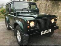 Electric Windows Land Rover Defender 90 Folding Rear Seats