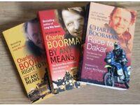 Trio of Charley Boorman books