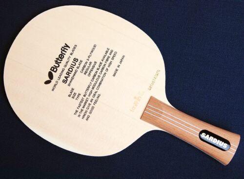 Butterfly Sardius FL Blade,Paddle Table Tennis , Ping Pong Racket