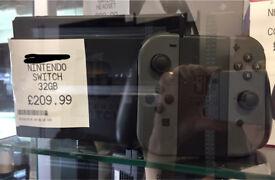 Nintendo Switch unboxed