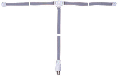 FM stereo ribbon antenna aerial HI-FI suit VHF tuners with male or female socket