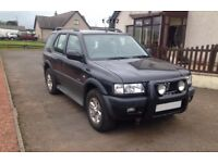 Vauxhall Frontera Limited. 2.2 16v petrol. Spares or repair with parts to repair.