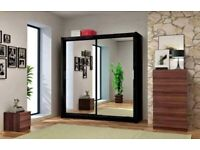 💥Limited Sale💥Brand New Chicago Sliding Mirror Wardrobe💥Order Now💥
