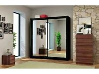 💯 New Beautiful CHICAGO Sliding Door Wardrobe with Warranty - Gives Modern look to your house 💯
