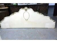Olympus by Harrods solid wood headboard 90 inches wide x 3ft tall.