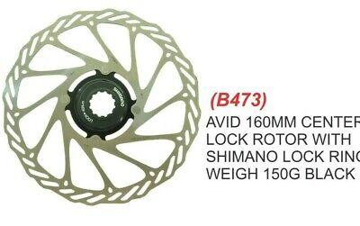 "2pc,RT48 MTB for kcnc,Avid,Shimano DISC BRAKE mr-ride 94g 180mm,7/"" ROTOR"