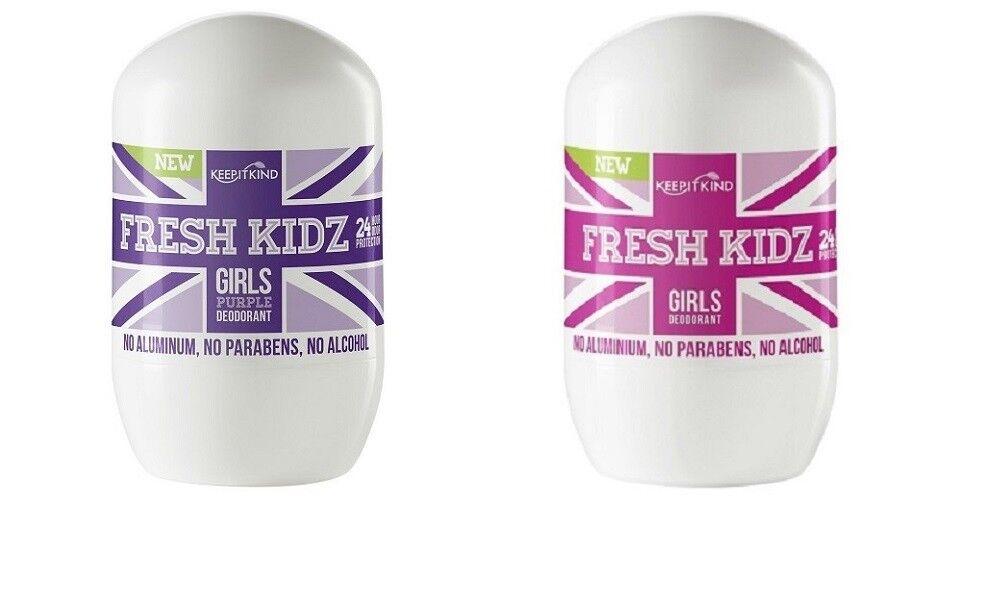Keep It Kind FRESH KIDZ Natural Deodorant Girl Choose PINK O