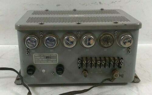 Collins 516E-1 DC Power Supply for KWM-1, 2 32S-1 75S-1 Free Shipping