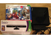 Xbox 360 250GB Console , kinect , disney infinity and lot of games