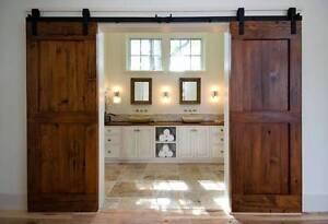 timber doors/ barn doors Rockingham Rockingham Area Preview
