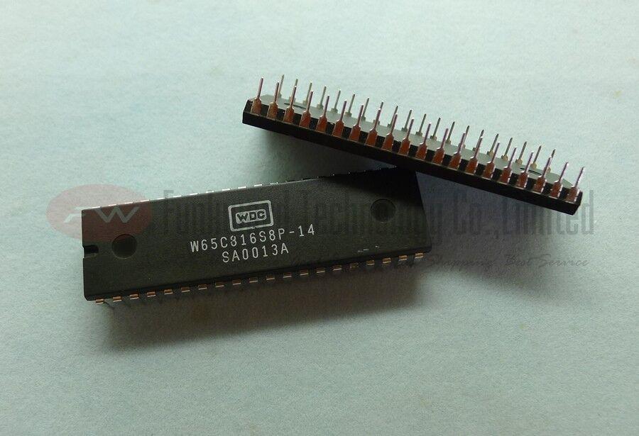 Details about NOS WDC W65C816S8P-14 W65C816 65C816 16Bit MPU DIP40 x 1pc