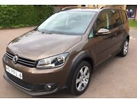 LHD LEFT HAND DRIVE VOLKSWAGEN TOURAN CROSS 1.6 TDI DSG AUTOMATIC 2011 BROWN IMMACULTE CONDITION NEW