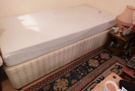 Single Bed with super comfortable memory mattress, collect from Tiptree