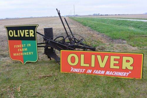 OLIVER TRACTOR  SIGNS