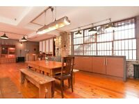 1,700 ft2 One Bedroom Bespoke Warehouse Conversion situated on the north side of Hanbury Street.