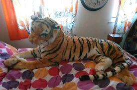 Life sized giant tiger stuffed toy