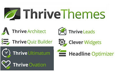 Thrive Themes Wordpress Plugins Pack - Lifetime Free Updates -