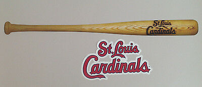 St. Louis Cardinals FATHEAD Official Baseball Bat Graphic 36