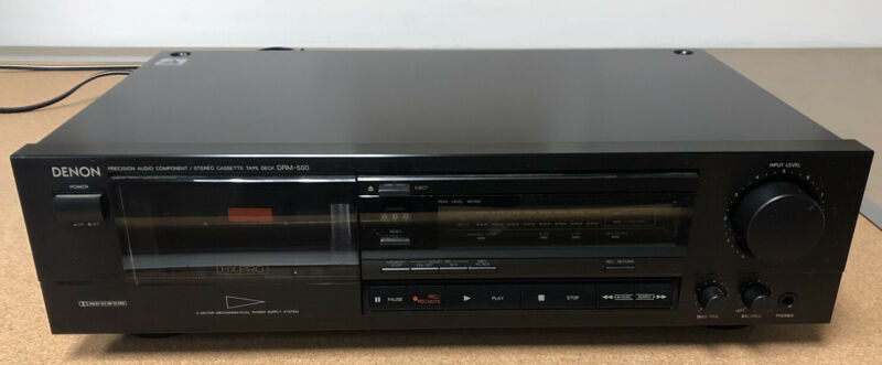 Denon DRM-500 Stereo Cassette Deck - Pre-owned