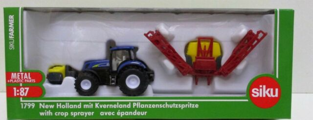 Siku 1799 - New Holland With Crop Sprayer             1:87 Plastic & Metal Model