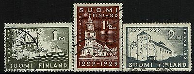 Finland SC# 155-157, Used - Lot 021217