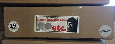 5 Etc Gorilla Cleaning Pads Floor Machine 19 Jaguar