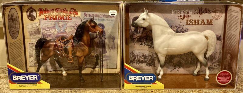 Breyer 300304 Annie Oakley'S Prince 300303 Buffalo Bill's Isham! Must Sell!