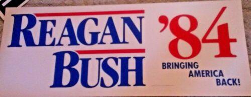Original 1984 Ronald Reagan Poster +