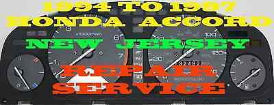 1994 1995 1996 1997  HONDA ACCORD CLUSTER SOFTWARE & ODOMETER CALIBRATION SERV