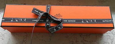 HERMES PARIS Box Schachtel Tuch Krawatte Guertel lang wie NEU (Hermes Gürtel Box)