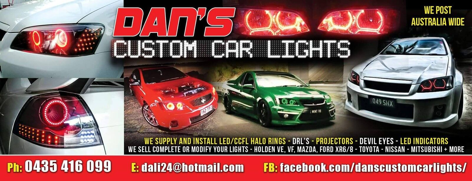 Dan's Custom Car Lights