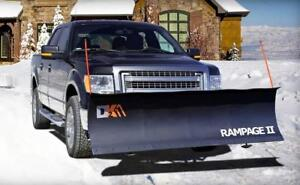 Brand New K2 II Snow Plow Best Price on the Market! Rampage 82, Storm 84, Summit 88 Are All Available Free Shipping!