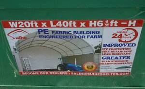 New 6m x 12m Container Shelter Workshop Igloo Dome +End Panel Pullenvale Brisbane North West Preview