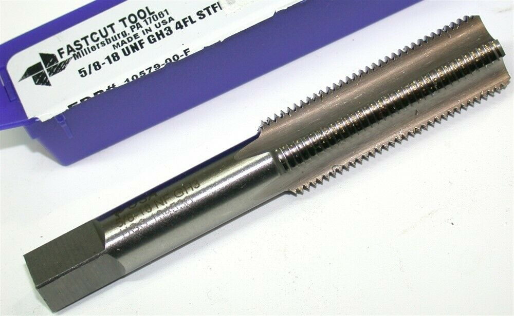 """NOS Fastcut 1//2/""""-20 Tap 4 Flutes Taper Made in USA"""