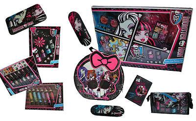 Monster High Cosmetics Make Up Sets Tin Case Bag Girls Gift - Monster High Make Up