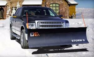 Brand New K2 Storm II 84 Snow Plow - DK2 84 Snowplow for Dodge, Ford, Chevy, GMC Pickup Trucks - Best Price on Market!