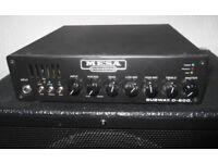 Mesa Boogie bass guitar amp head Subway D800 amplifier