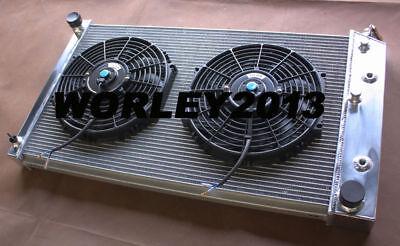 3 core aluminum radiator + fan for Pontiac Grand Prix V8 (Pontiac Grand Prix Radiator Core)