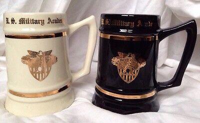 United States US Military Academy USMA West Point NY Large Norsid Ceramic Stein