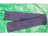 Blue fishing pole bag